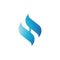 innitial logo SH
