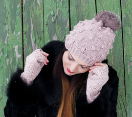 Winter fairy, snow angel