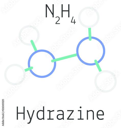 """N2h4 Molecule """"N2H4 Hydrazine m..."""
