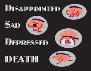 brain negative emotion steps