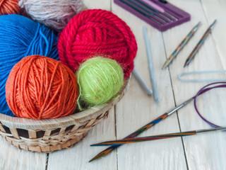 Yarns for hand knitting