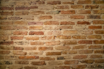 Bricks in the old wall