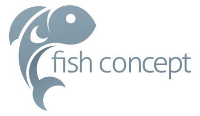 Fish Icon Concept