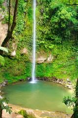 Katibawasan Falls. Philippine paradise. Camiguin island.
