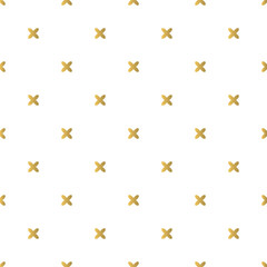 Christmas golden background, seamless tiling, great choice for wrapping paper pattern