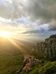 Monastère de Roussanou, météores, Kalampaka, Grèce