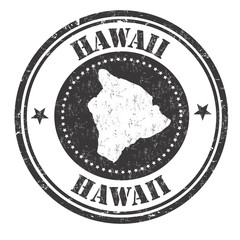 Hawaii sign or stamp