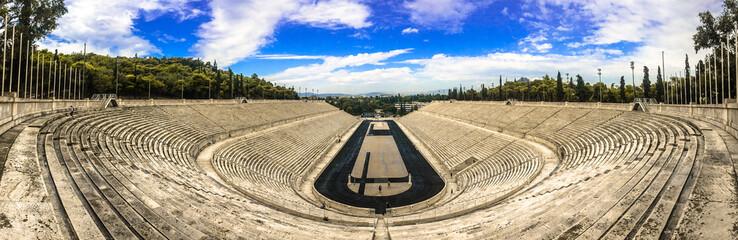 Stade Panathénaïque Olympique, Athènes, Grèce