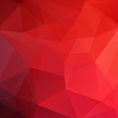 Abstract geometric style red background. Christmas background Vector illustration