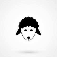 Sheep icon.vector illustration.