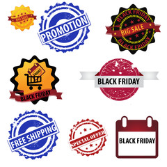 Black Friday Logo stamp