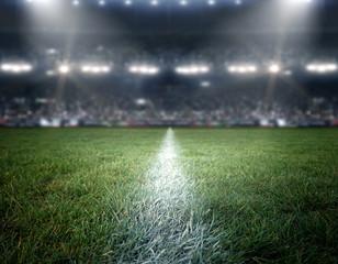 stadium lights, 3d rendering