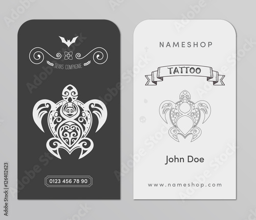 Carte De Visite Tatouage