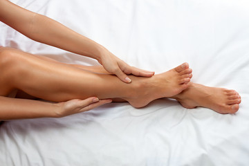 Massage for legs and ankles