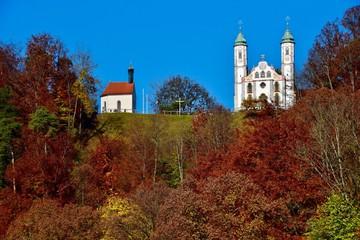 Kreuzkirche auf dem Kalvarienberg in Bad Tölz