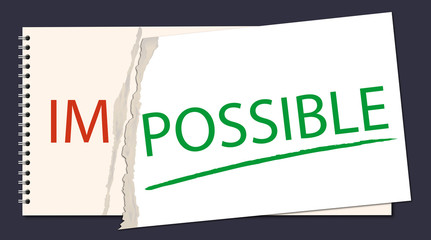 Impossible - Possible - Solution - Motivation