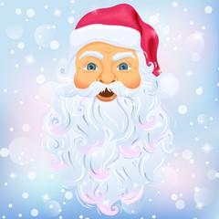 Santa Clause nad snow