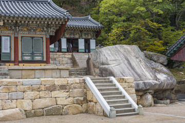 Foto op Canvas Tuin Beomeosa Temple in Busan, South Korea.