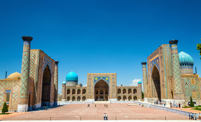 Registan Square in Samarkand - Uzbekistan