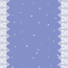 christmas card,white snowflakes