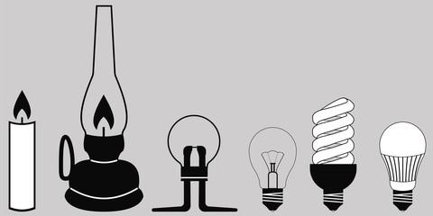 evolution lighting lamp