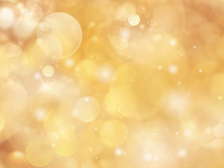Gold abstract background blur.Holiday wallpaper.