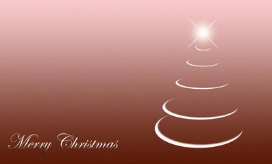 Christmas card abstract