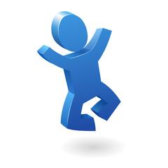 jumping figure 2 3d