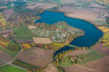 Breitenauer See von oben