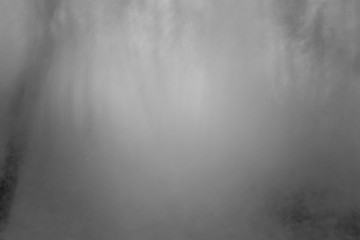 Abstract grey and black background picture from fog in night forest