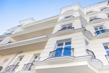 Hausfassade, edle Fassade