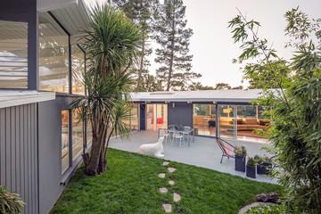 Mid Century Modern home with open floorplan.