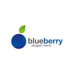 blueberry logo design