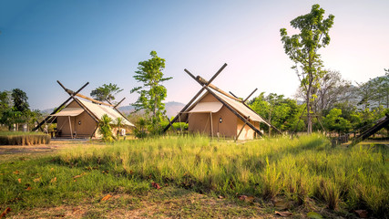 Eco tent camping, khaoyai, thailand