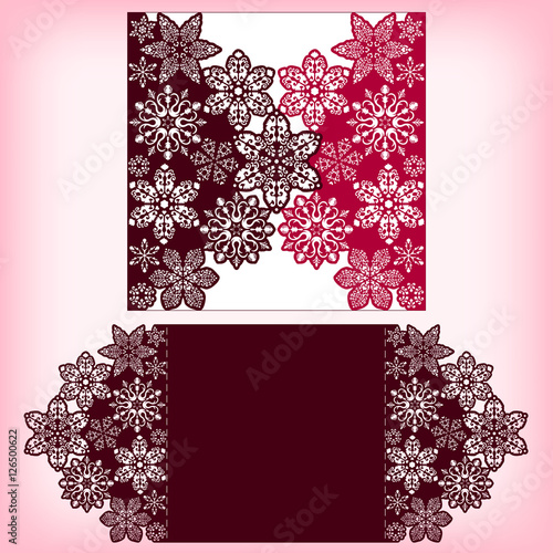 Laser cutting three layers template with snowflakes ornament for laser cutting three layers template with snowflakes ornament for christmas greeting cards invitations m4hsunfo
