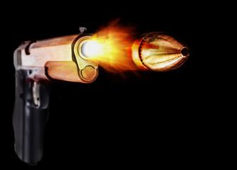 Silver Pistol Fire