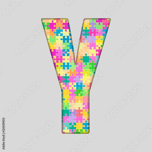 Puzzle Letter Alphabet