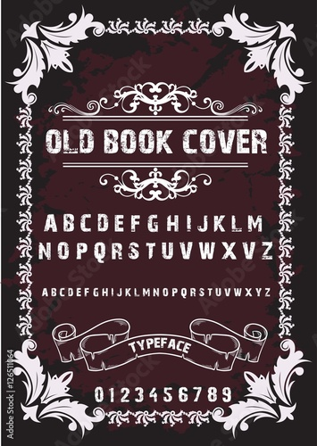 Best Book Cover Fonts : Book cover font free download