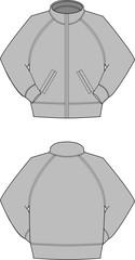 Illustration of training suit
