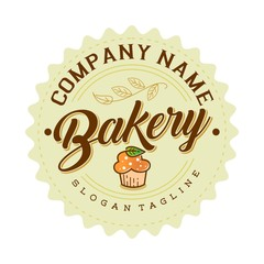 bakery vector logo