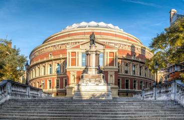 The royal Albert hall in South Kensington London, UK