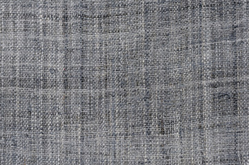 Gray napkin background and pattern