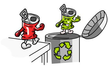Blik recycling