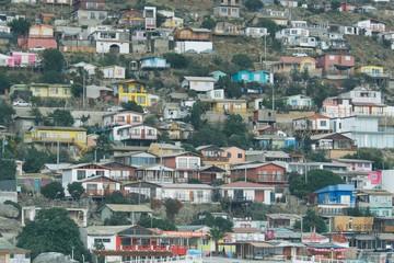 Chilean Colourful Hill Town