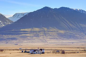 Landscape around Iceland