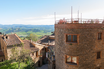 Volterra beautiful medieval town