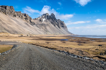 Vesturhorn in South East Iceland