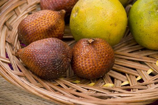 Balinesische Früchte