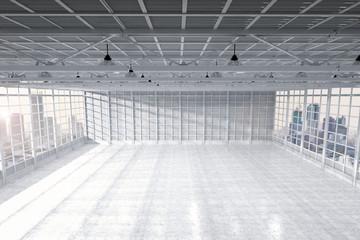 interior empty factory