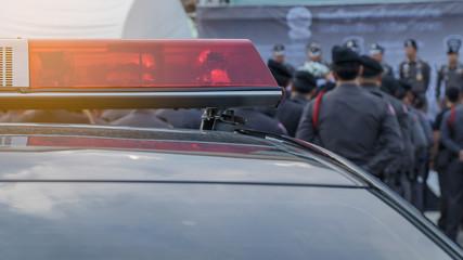 siren light,police car
